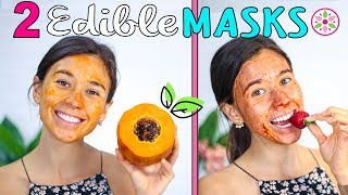 DYI EXFOLIATING FACE MASKS!