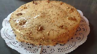 Торт медовый Крем - Карамель