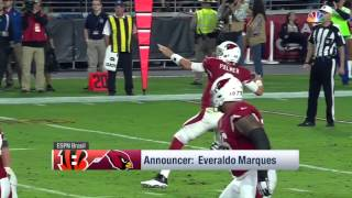 Foguete De Carson Palmer Para J.J. Nelson! | Brazilian Highlight (Week 11) | NFL