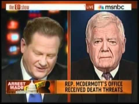 Rep Jim McDermott Responds To Death Threat