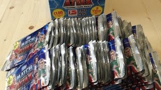 Match Attax 2014/2015 - 200 Booster (2 Displays) -[ Opening / Unboxing ] 14/15 Teil 1/4