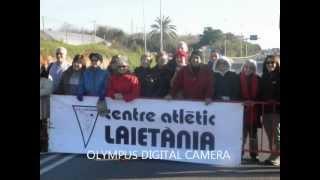 Media Maratón Mataró 2 Diciembre 2012 voluntarios CAL