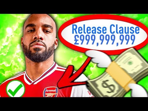 THE RELEASE CLAUSE ONLY CHALLENGE WITH ARSENAL!!! FIFA 19 Career Mode