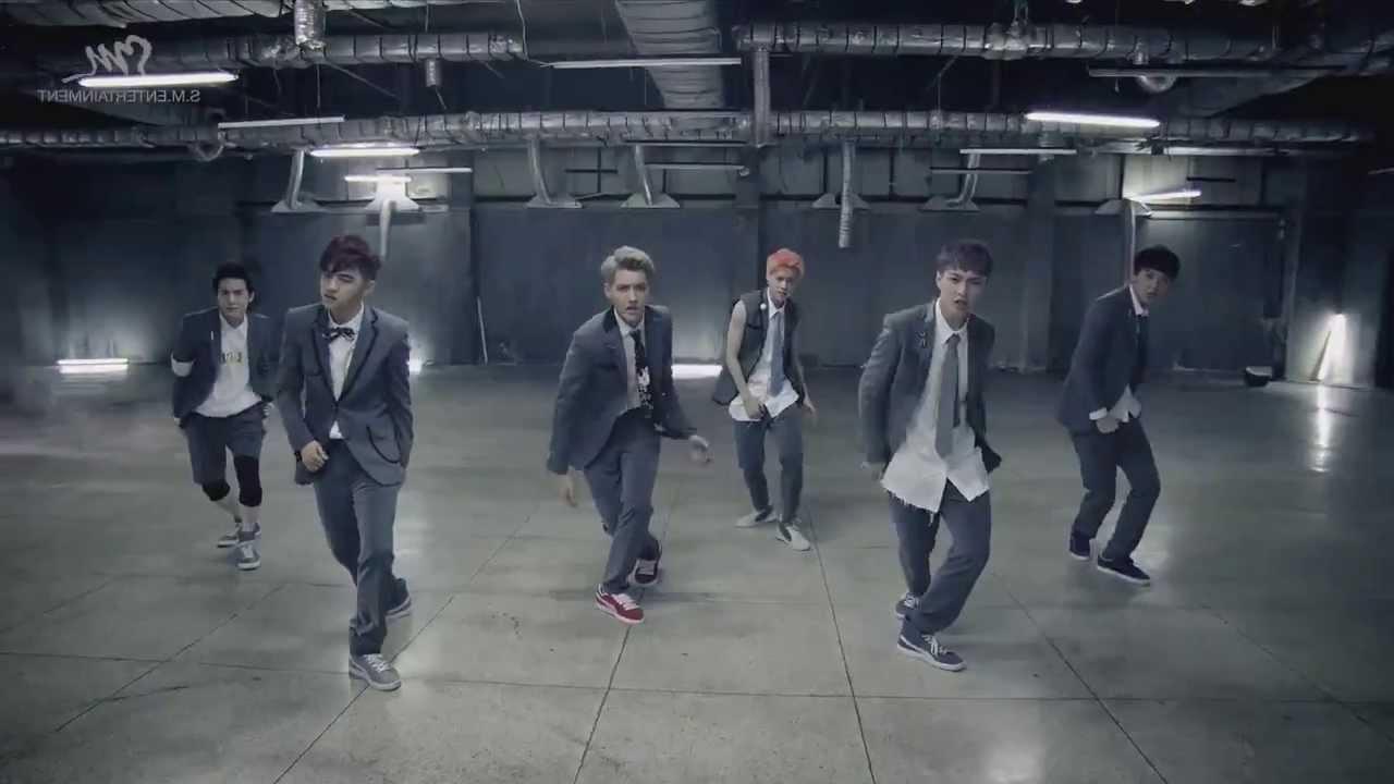 EXO 'Growl' mirrored Dance MV (Korean ver) - YouTube