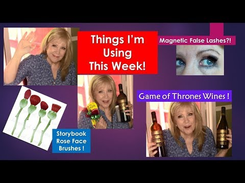 New Products This Week! Magnetic Lashes UD Velvetizer Game of Thrones WINE?!