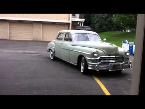 1949 chrysler new yorker runs great video 3 youtube. Black Bedroom Furniture Sets. Home Design Ideas