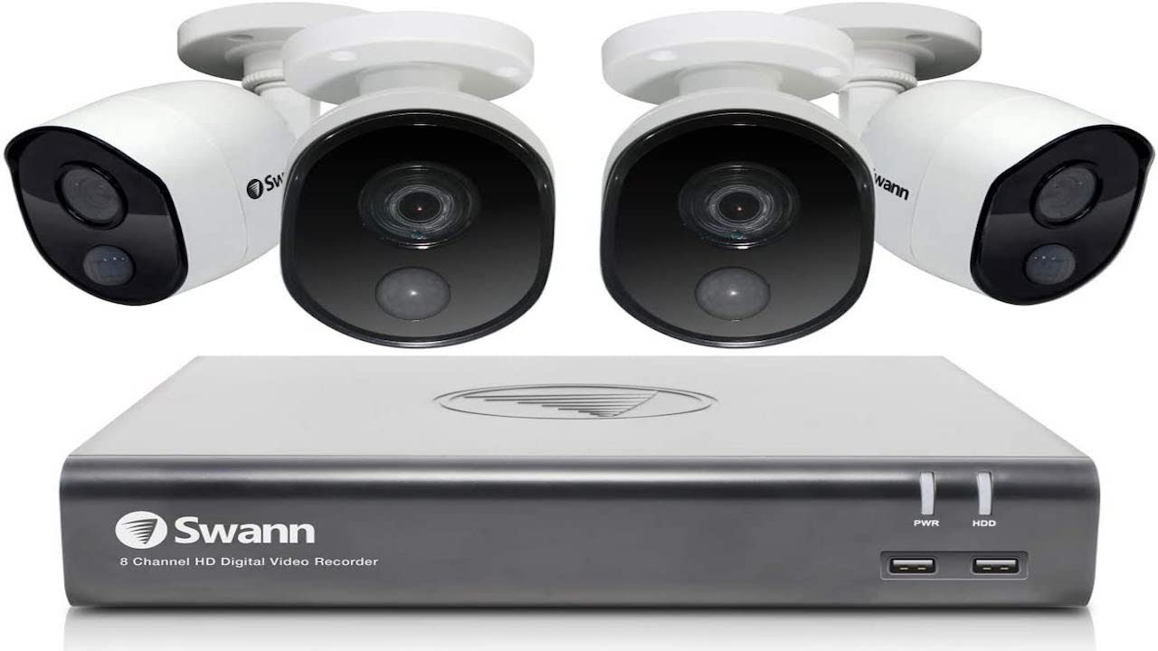 5 Best Home Security Cameras Of 2020   Top 5 Best Home Security Systems   Security Camera Floodlight