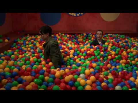 TBBT. Sheldon In A Ball Pit - YouTube