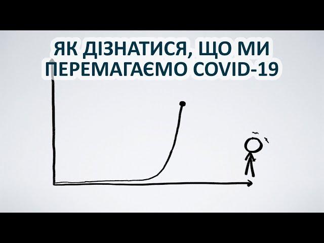 Як дізнатися, що ми перемагаємо COVID-19 [MinutePhysics]