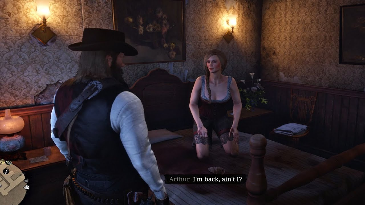 Red Dead Redemption 2 - Helping Prostitute & Feeding Dead Man To Pigs