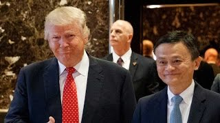Jack Ma meets Donald Trump, pledges to create millions of US jobs