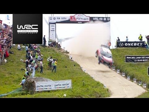 Обзор Ралли Португалии WRC: главные аварии и победа Ожье