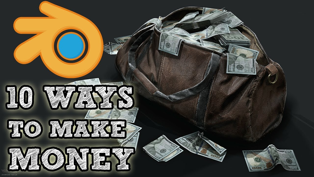 Download How to Make Money Using Blender