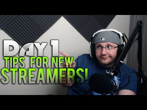 "Accepting ""Donations"" New Streamer Tips for Day One (Twitch Streaming Advice)"