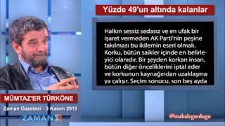 Yüzde 49'un altında kalanlar - Mümtaz'er Türköne
