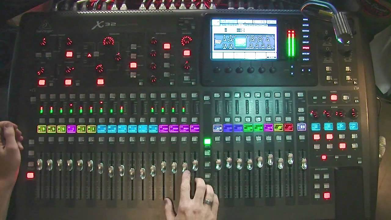 behringer x32 effects stereo delay tutorial youtube. Black Bedroom Furniture Sets. Home Design Ideas