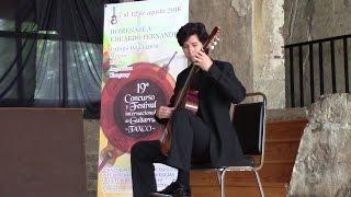 Final de solistas del décimo noveno concurso internacional de Guitarra de Taxco