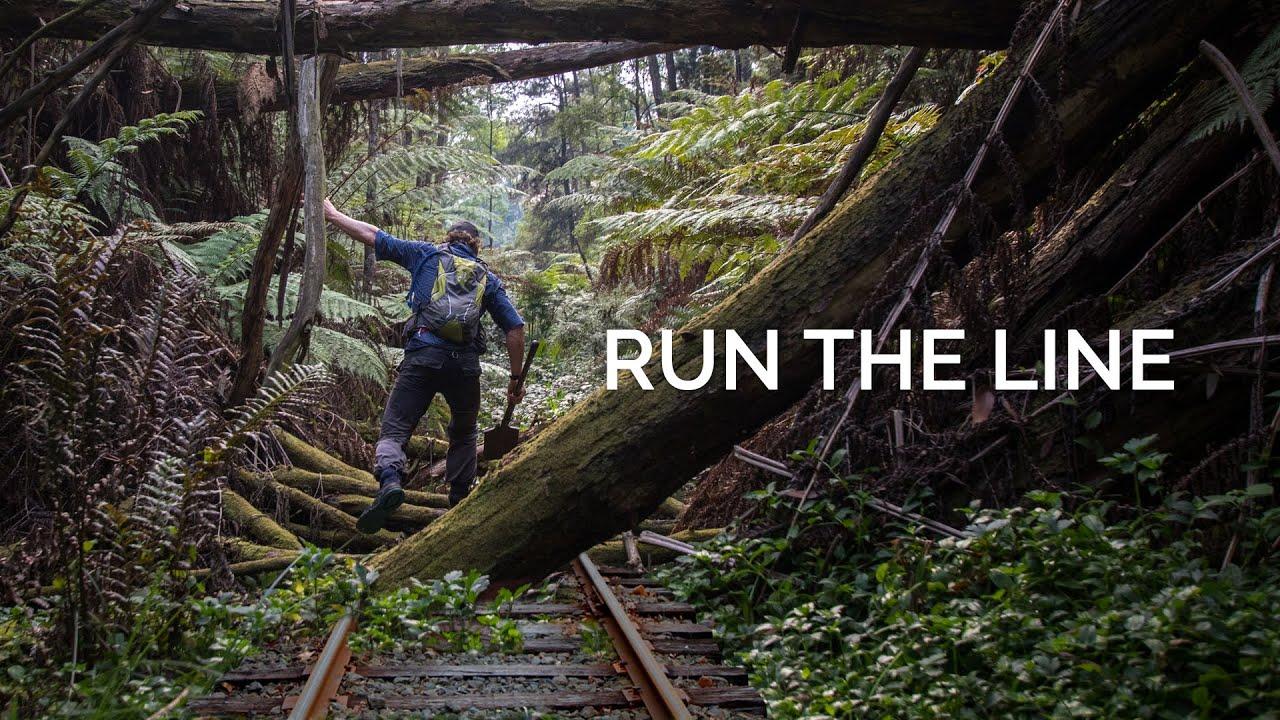 Run The Line Retracing 43km Of Hidden Railway Youtube