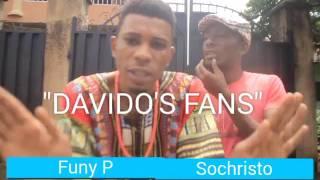 Davido's fans (Homeoflafta Comeday)