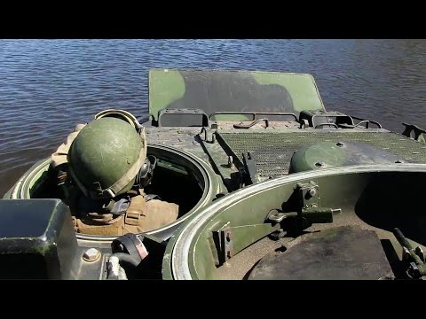 Marine Corps Amphibious Assault Vehicles River Crossing