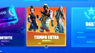 THESE are the FREE REWARDS OF EXTRA TIME CHALLENGES in FORTNITE! (12 FREE ITEMS)