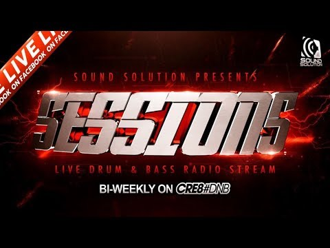 Sound Solution Sessions: Nu Elementz & Beretta LIVE with MC Tactik on Cre8DNB