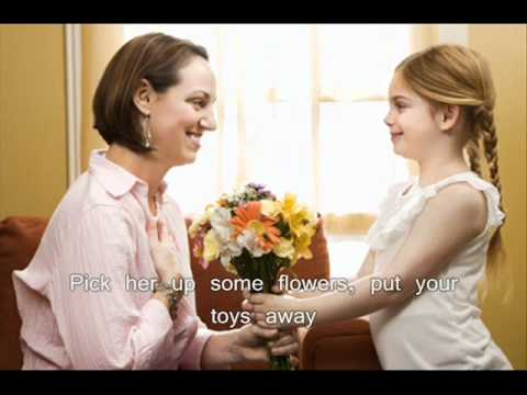 Big Time Rush - The Mom Song (The Mother's Day Song) With Lyrics