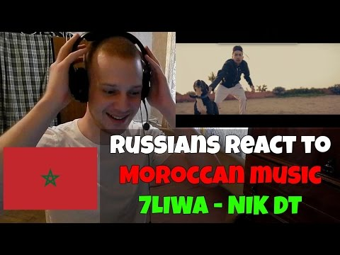 RUSSIANS REACT TO MOROCCAN MUSIC | 7LIWA - NIK DT [Clip Officiel] | MOROCCO RAP REACTION