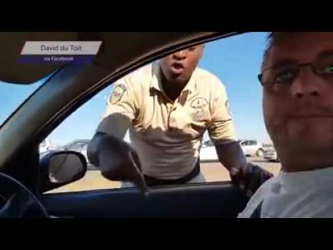 South African traffic cops