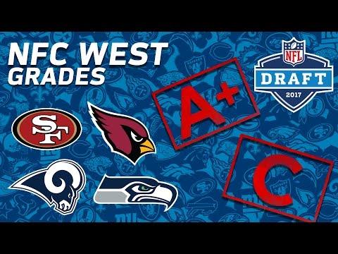 Seahawks, 49ers, Cardinals, & Rams | NFC West 2017 NFL Draft Grades | NFL NOW