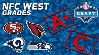 Seahawks, 49ers, Cardinals, & Rams | NFC West 2017 NFL Draft Grades | NFL NOW Free HD Video
