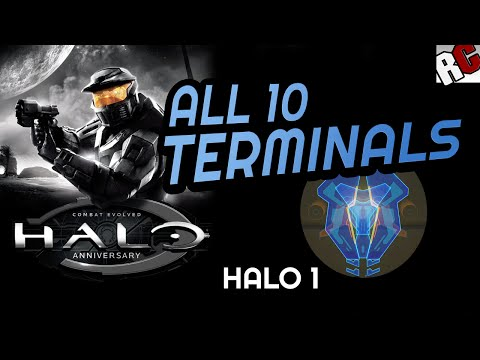 All Terminal Locations - Halo Combat Evolved - The Master Chief Collection - Dear Diary Achievement