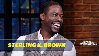 Sterling K. Brown's Mother-In-Law Didn't Approve of Him