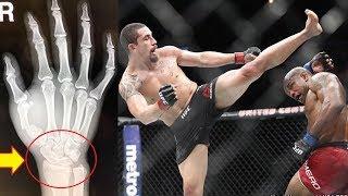 видео Травмы бойцов на UFC 225. 8 фотографий, которые вас напугают