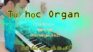 Công tác chuẩn bị, Nốt trên phím đàn || Tự học Organ chơi Show || Bài 1