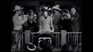 Judy Garland sings The Texas Tornado in Pigskin Parade
