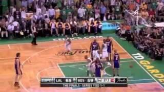 NBA Celtics VS Lakers Finals 2008 Full Game 6 (Grdgez)