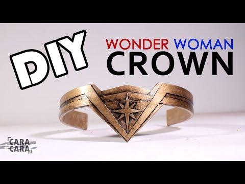 Keren!!! Bikin Mahkota Wonder Woman Sendiri Dari Cardboard