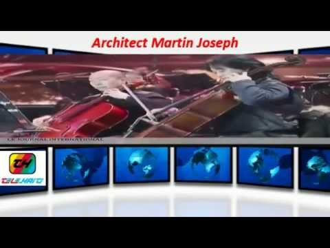 Architect Martin Joseph New Curved and  4K TV