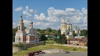 Прогулка по городу Серпухов (Московская область).