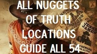 Call Of Juarez Gunslinger - All Nuggets Of Truth Locations (Unvarnished Truth Trophy/Achievement)