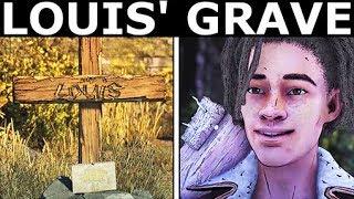 All Louis' Grave Drawings - The Walking Dead Final Season 4 Episode 4: Take Us Back