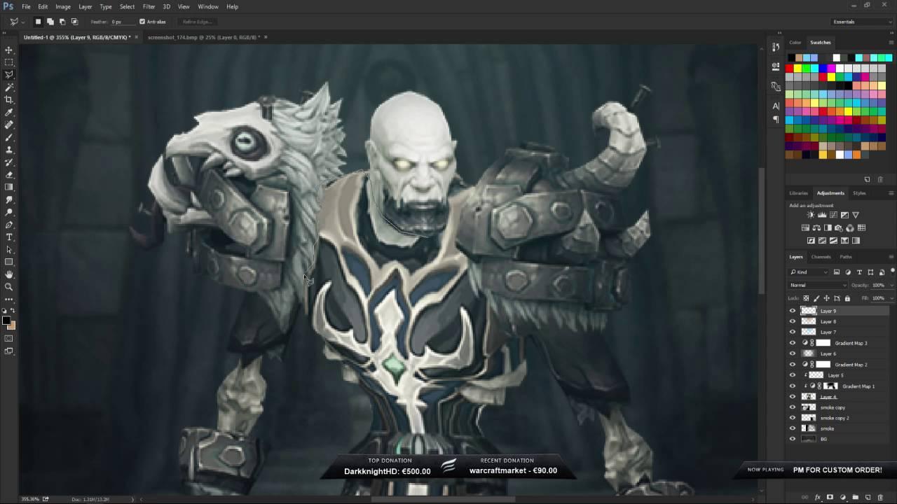 World of Warcraft - Undead Speedart
