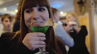 видео Пирамида из шампанского в Москве