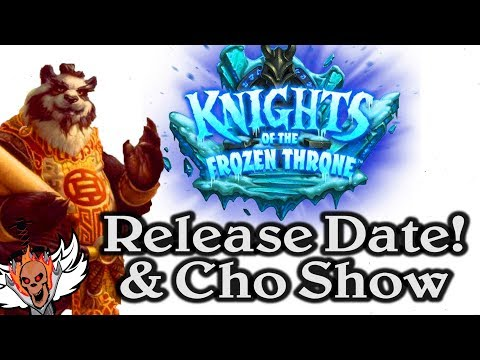 Release Date Announced for Knights of the Frozen Throne  🍀🎲 ~ Journey to Un'Goro ~ Hearthstone