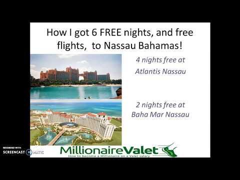 How I got 6 free nights, and free flights, to Nassau Bahamas