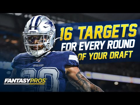 The Top 16 Targets for Every Round of Your Draft (2021 Fantasy Football)