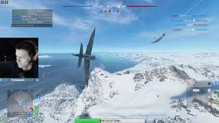 BFV - 1080p   Air combat on Fjell 652