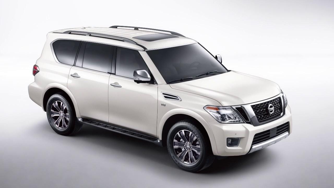 2020 Nissan Armada Headlights And Exterior Lights