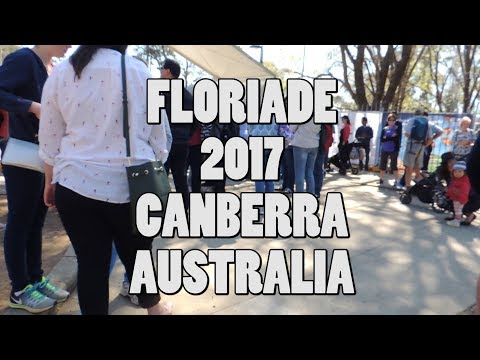 Floriade 2017 Canberra Australia